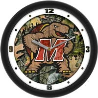 "Maryland Terrapins 12"" Wall Clock - Camo"