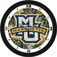 "Marquette Golden Eagles 12"" Wall Clock - Camo"