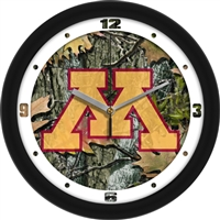 "Minnesota Golden Gophers 12"" Wall Clock - Camo"