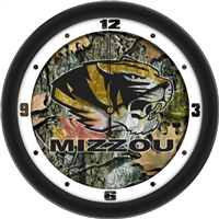 "Missouri Tigers 12"" Wall Clock - Camo"