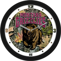"Montana Grizzlies 12"" Wall Clock - Camo"
