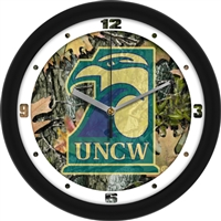 "North Carolina Wilmington (UNCW) Seahawks 12"" Wall Clock - Camo"