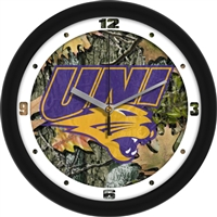 "Northern Iowa Panthers 12"" Wall Clock - Camo"