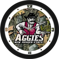"New Mexico State (NMSU) Aggies 12"" Wall Clock - Camo"