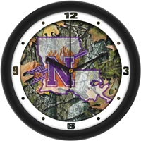 "Northwestern State Demons 12"" Wall Clock - Camo"