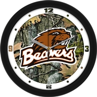 "Oregon State Beavers 12"" Wall Clock - Camo"