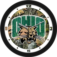 "Ohio Bobcats 12"" Wall Clock - Camo"