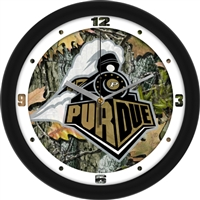 "Purdue Boilermakers 12"" Wall Clock - Camo"