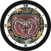 "Missouri State Bears 12"" Wall Clock - Camo"