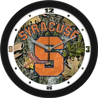 "Syracuse Orange 12"" Wall Clock - Camo"