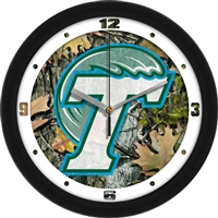 "Tulane Green Wave 12"" Wall Clock - Camo"