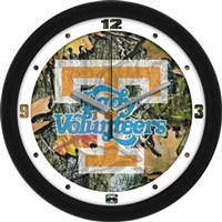 "Tennessee Lady Volunteers 12"" Wall Clock - Camo"