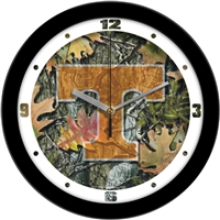 "Tennessee Volunteers 12"" Wall Clock - Camo"