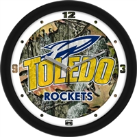 "Toledo Rockets 12"" Wall Clock - Camo"