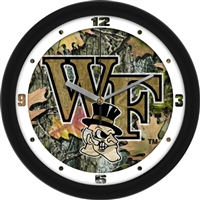 "Wake Forest Demon Deacons 12"" Wall Clock - Camo"