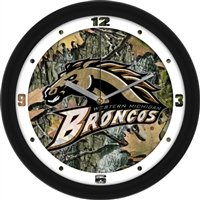 "Western Michigan Broncos 12"" Wall Clock - Camo"