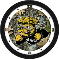 "Wichita State Shockers 12"" Wall Clock - Camo"