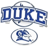 Duke Blue Devils Slider Hat Clip Ball Marker