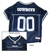 Dallas Cowboys NFL Dog Jersey - Extra Small