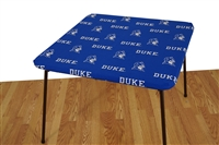 Duke Blue Devils Card Table Cover