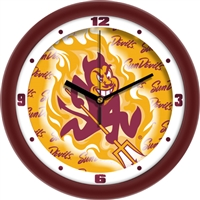 "Arizona State Sun Devils 12"" Wall Clock - Dimension"