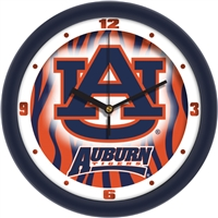 "Auburn Tigers 12"" Wall Clock - Dimension"