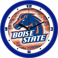 "Boise State Broncos 12"" Wall Clock - Dimension"