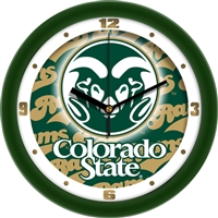 "Colorado State Rams 12"" Wall Clock - Dimension"