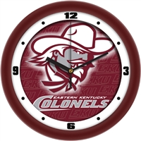 "Eastern Kentucky Colonels 12"" Wall Clock - Dimension"