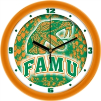 "Florida A&M Rattlers 12"" Wall Clock - Dimension"