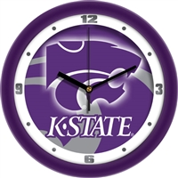 "Kansas State Wildcats 12"" Wall Clock - Dimension"