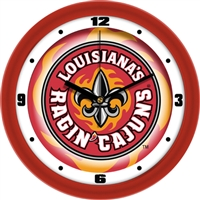 "Louisiana Lafayette (ULL) Ragin' Cajuns 12"" Wall Clock - Dimension"