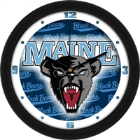 "Maine Black Bears 12"" Wall Clock - Dimension"