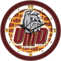"Minnesota Duluth Bulldogs 12"" Wall Clock - Dimension"