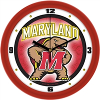 "Maryland Terrapins 12"" Wall Clock - Dimension"