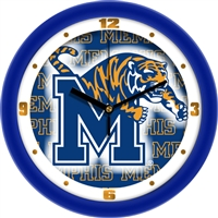 "Memphis Tigers 12"" Wall Clock - Dimension"