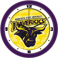 "Minnesota Mavericks 12"" Wall Clock - Dimension"