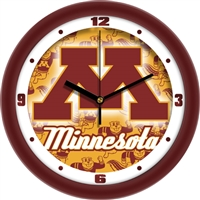 "Minnesota Golden Gophers 12"" Wall Clock - Dimension"