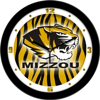 "Missouri Tigers 12"" Wall Clock - Dimension"