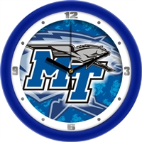 "Middle Tennessee State (MTSU) Blue Raiders 12"" Wall Clock - Dimension"