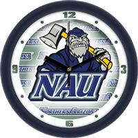 "Northern Arizona Lumberjacks 12"" Wall Clock - Dimension"