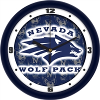 "Nevada Wolfpack 12"" Wall Clock - Dimension"