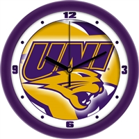 "Northern Iowa Panthers 12"" Wall Clock - Dimension"