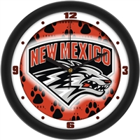 "New Mexico Lobos 12"" Wall Clock - Dimension"