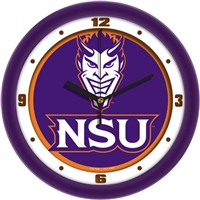 "Northwestern State Demons 12"" Wall Clock - Dimension"