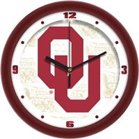 "Oklahoma Sooners 12"" Wall Clock - Dimension"