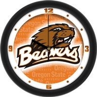 "Oregon State Beavers 12"" Wall Clock - Dimension"