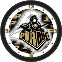 "Purdue Boilermakers 12"" Wall Clock - Dimension"