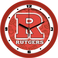 "Rutgers Scarlet Knights 12"" Wall Clock - Dimension"