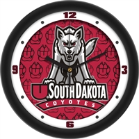 "South Dakota Coyotes 12"" Wall Clock - Dimension"